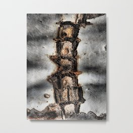 Abstract #001 Metal Print