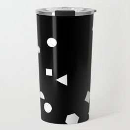My Favorite Pattern 3 black Travel Mug
