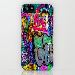 Street art iPhone Case