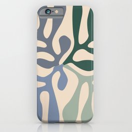 Matisse cutouts abstract drawing, iPhone Case