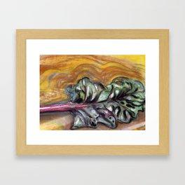 Chard Framed Art Print
