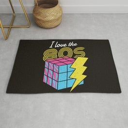 I Love The 80s Rug