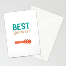 Best Guitarist Ever Stationery Cards