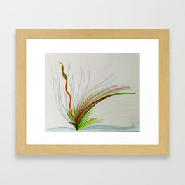New Life (Rainbow Being) Framed Art Print