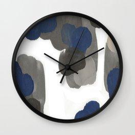 feelin blu Wall Clock
