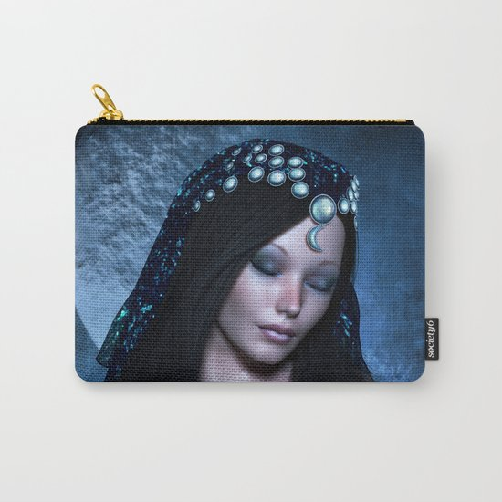 Praying Moon Goddess Carry-All Pouch