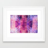 trippy Framed Art Prints featuring TRIPPY by Joelle Poulos