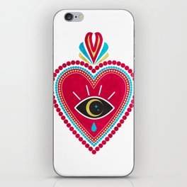 Ex Voto Sacred Heart iPhone Skin