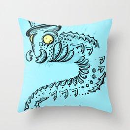 Sir Calipiter Throw Pillow