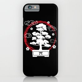Bonsai Tree Japan Japanese Culture Art Gift iPhone Case