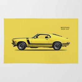Mustang Boss 302 Rug