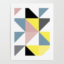 Triangle Scandinavian Art Poster
