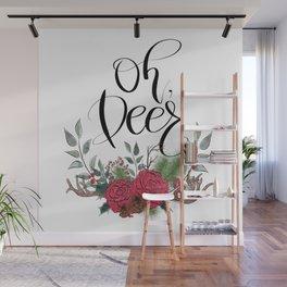 Oh, Deer Wall Mural
