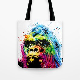 Rainbow Gorilla Tote Bag