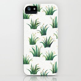 Field of Aloe iPhone Case