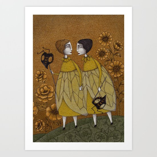 To Save the BEES! Art Print