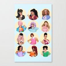 RuPaul's Drag Race s08 Canvas Print