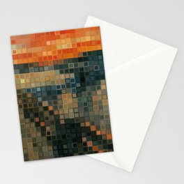 THE SCREAM Low Res Homage  Stationery Cards