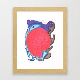 Drawing #95 Framed Art Print