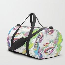 Alicia Silverstone (Creative Illustration Art) Duffle Bag