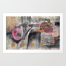 SUBSEQUENT Art Print