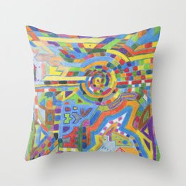 Alchemy 8 Throw Pillow