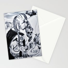 Peaceful Warlord Stationery Cards