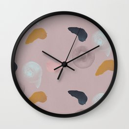 Blueberries 1 Wall Clock