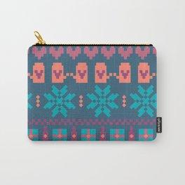 Fair Isle Christmas Carry-All Pouch