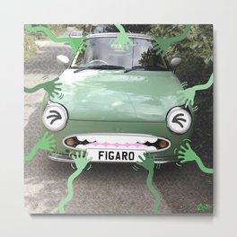 FIGARO Metal Print