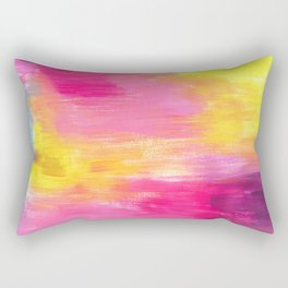 Abstract Gradient Rectangular Pillow