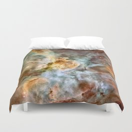 Carina Nebula, Star Birth in the Extreme - High Quality Image Duvet Cover