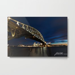 Harbour Bridge, Sydney Metal Print