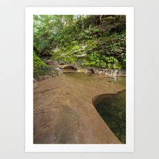 an ancient landscape Art Print