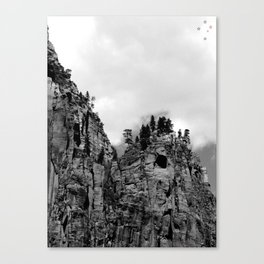 Cliffs of Zion Canvas Print