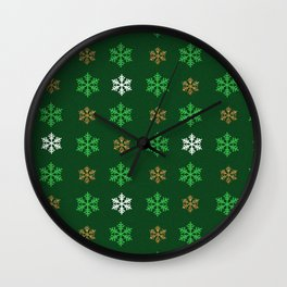 It's going to be a snowy day Wall Clock