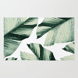 Tropical Banana Leaves Vibes #1 #foliage #decor #art #society6 Rug