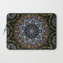 Burning Butterfly Mandala Laptop Sleeve