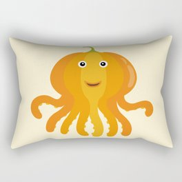 Nursery Octopus Pumpkin Thanksgiving Under the Sea Rectangular Pillow