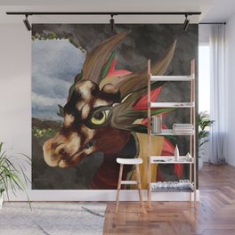 Cavern of the Earth Dragon Wall Mural