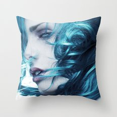 Cerulean  Throw Pillow