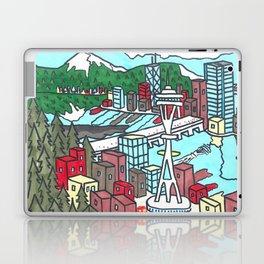 Seattle Daytime Laptop & iPad Skin