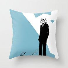 Off time Throw Pillow