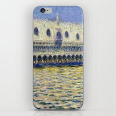 The Palazzo Ducale by Claude Monet iPhone & iPod Skin