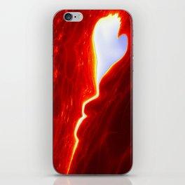 the stolen Heart / das gestohlene Herz iPhone Skin