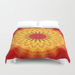 mandala sunlight Duvet Cover