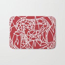 Bushel of Crabs (RED) Bath Mat