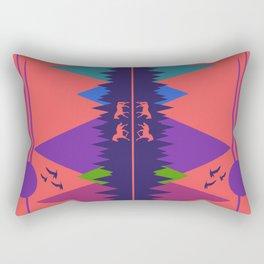 Wild Horses #1 Rectangular Pillow