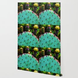 Cactus In The Garden Wallpaper