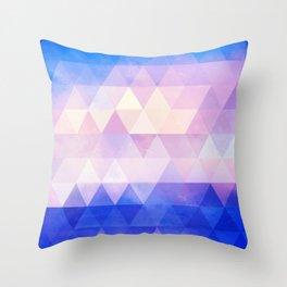 Sea Ice Throw Pillow